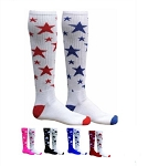 Red Lion MX Stars Knee High Socks