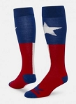 Red Lion Texas Flag Knee High Socks Closeout