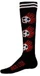 Red Lion Flaming Soccerball Socks