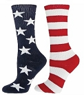 Red Lion Freedom Stars and Stripe Crew Socks