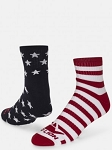Red Lion Honor USA Stars and Stripes Quarter Socks