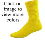 Red Lion Solid Color Crew Socks