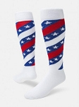 Red Lion Stars and Stripes Knee High Socks