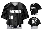 Teamwork Custom  Baseball Jerseys (2 Pinstripes)
