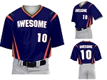 Teamwork Custom  Baseball Jerseys (BMX)