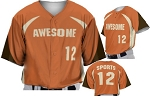 Teamwork Custom  Baseball Jerseys (Broncos)