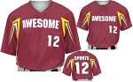 Teamwork Custom  Baseball Jerseys (Bull Pen)