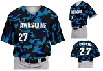 Teamwork Custom  Baseball Jerseys (Camoflauge)