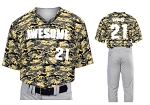 Teamwork Custom  Baseball Jerseys (Digi Camo)