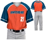 Teamwork Custom  Baseball Jerseys (Mercy Rule)