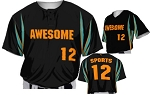 Teamwork Custom  Baseball Jerseys (Triple Play)