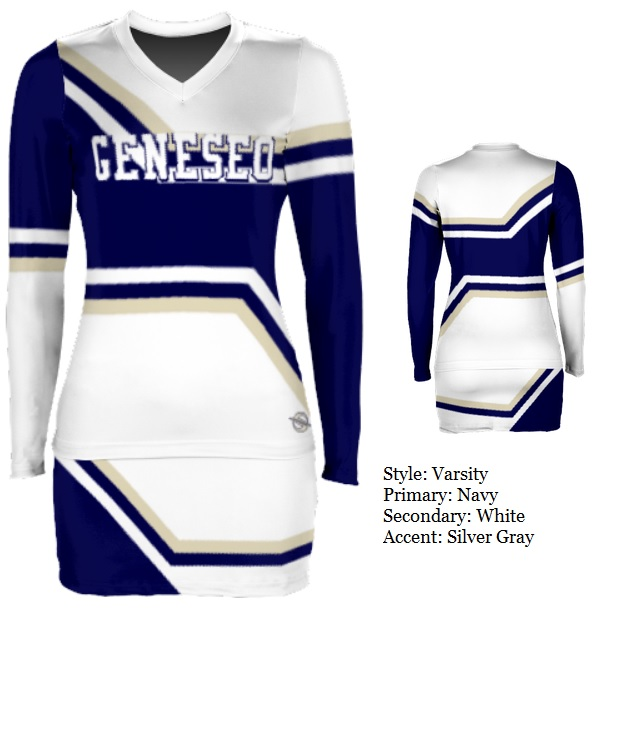Custom Cheerleading Uniforms - Prosphere Sublimated Cheer Varsity ... 3f58372e4