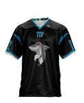Teamwork Custom Replica Football Jersey (Stealth)
