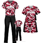 Teamwork Custom  Softball Uniforms (Camo)