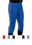 Teamwork 12 oz. Low Rise Piped Softball Pants
