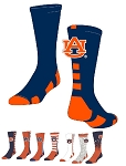 Officially Licensed Twin City Collegiate Socks (Auburn University)