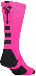 Twin City Midline Pink Lacrosse Crew Socks