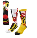 Twin City Maryland Flag Crew Socks