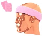 Twin City Pink Headbands and Wristbands