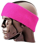 Twin City Hot Pink Ear Warmer-CLOSEOUT