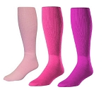 Twin City Pink Multi Sport Knee High Tube Sock