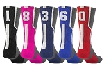 Twin City Player ID Crew Sock   (Sold Individually)