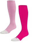 Twin City Prosport Pink Knee High Multi Sport Socks
