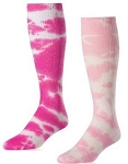 Twin City  Pink Tie Dye Socks