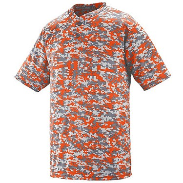Augusta Adult and Youth Digi Camo Two Button Jersey