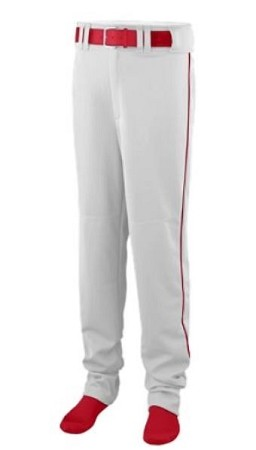 Augusta 14 oz Open Bottom Baseball Pants w/Piping-CLOSEOUT