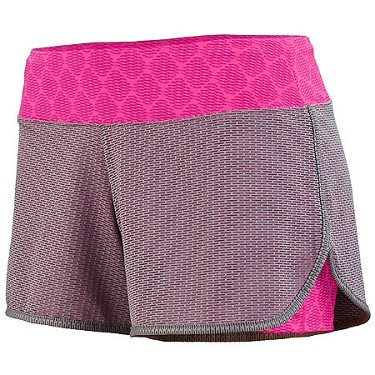Augusta Ladies Pink Sadie Shorts
