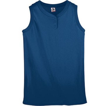 Augusta Ladies & Girls Two Button Sleeveless Top