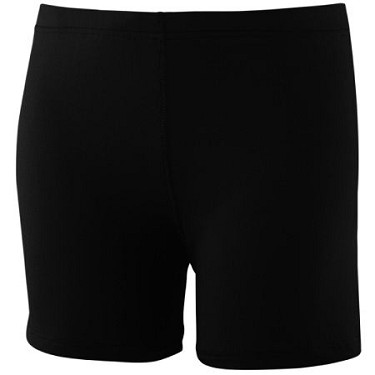 "Augusta Ladies Poly/Spandex 4"" Short-CLOSEOUT"