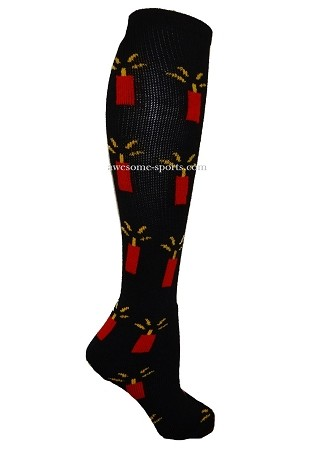 8cc13228cdd7 Pearsox Custom Fire Cracker Knee High Socks (Dynamite)