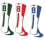 Twin City Colored Player ID Crew Sock (Sold Individually)