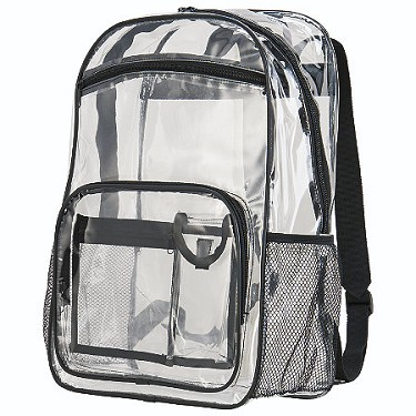 Augusta Clear Backpack