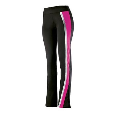 Augusta Aurora Warm Up Pants-Pink