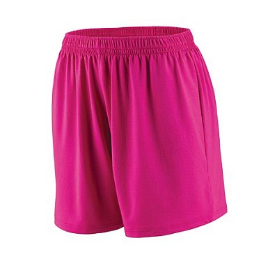 Augusta Inferno Pink Ladies or Girls Short