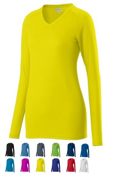 Augusta Assist Long Sleeve Jersey