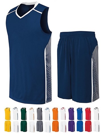 e48428c4c7d Basketball Uniforms - High Five Comet Basketball Jersey and shorts