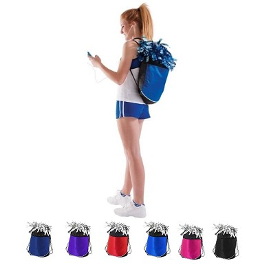 5f7542f60224 Buy Pizzazz Deluxe Draw String Backpacks