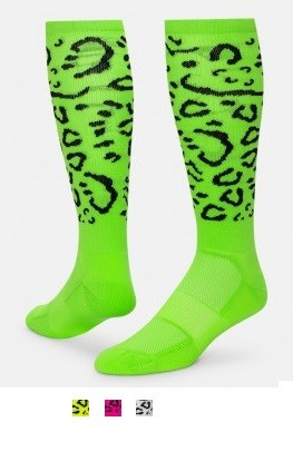 a19b6e470f2 Jaguar Print Knee High Socks by Red Lion - Crazy and Funky socks