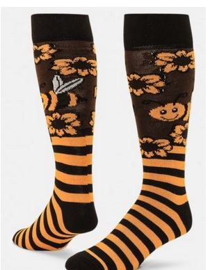 0b24c6b42a6 Red Lion Honeybee Knee High Socks Closeout