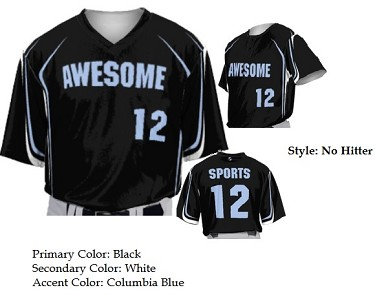 Teamwork Custom  Baseball Jerseys (No Hitter)