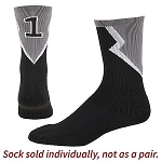 Number Crew Socks by Augusta - Roster  (Sold Individually)