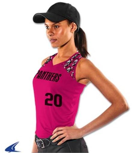 Sleeveless Pink Jerseys