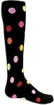 Clearance Red Lion Multi Color Polka Dot Socks