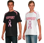 Teamwork Custom Cancer Ribbon Awareness Shirts