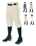 Baseball Pants by Alleson - Knicker 14 Oz. -CLOSEOUT