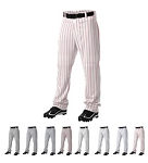 Baseball Pants by Alleson - Open Bottom Pinstripe